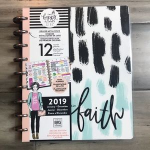 The Happy Planner Girl Faith Warrior Planner